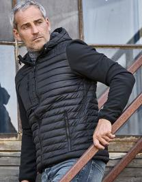 Hooded Crossover Jacket